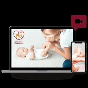 Onlinekurs Babymassage